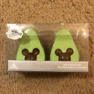 Avocado Mickey salt and pepper shakers